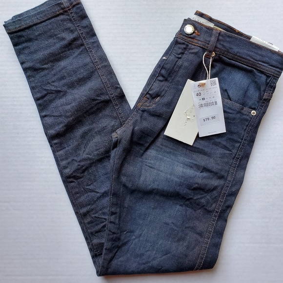 Zara Other - NWT Zara Man Slim Denim Blue Jeans US 31 EUR 40